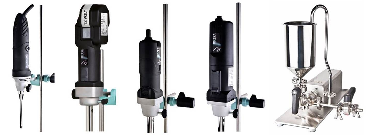Artprozess Dispersing and homogenizing drives