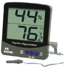Deltarak Jumbo Display Thermo Hygrometer